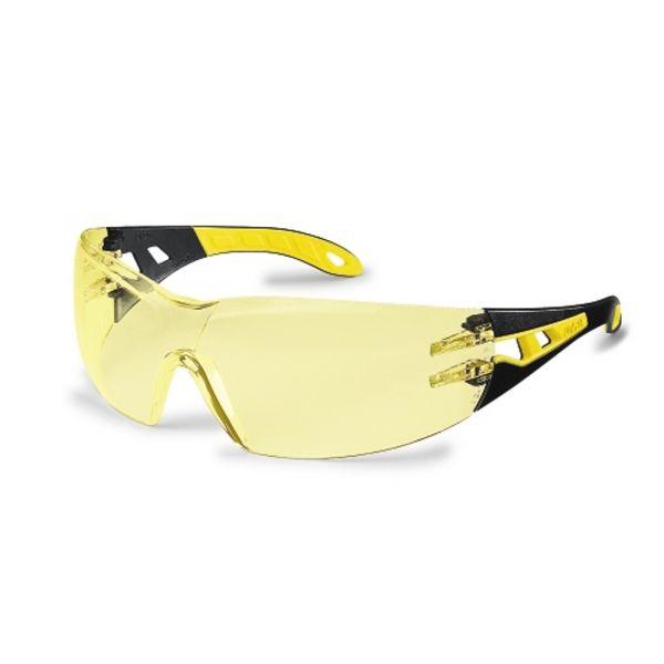 Uvex 9192.385 pheos Schutzbrille amber