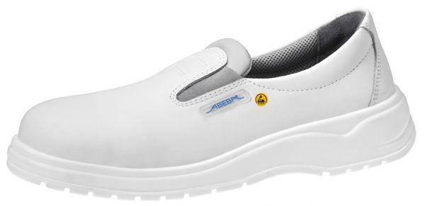 Abeba 31032 light Slipper weiß ESD - S2 SRA Sicherheitsschuhe