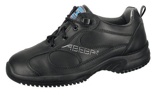 Abeba 6751 uni6 Halbschuh schwarz - O2 SRC - Berufsschuhe