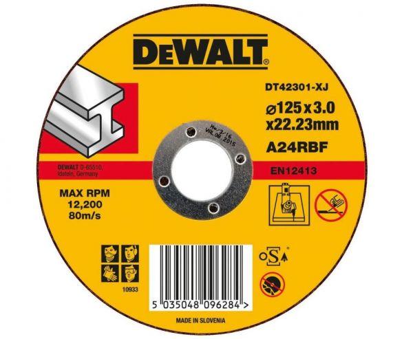 DeWalt DT42301, Standard Metall-Trennscheibe - flach