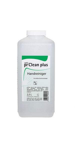 pr - Hautschutz prClean plus - Handreiniger, flüssig 2,5 Liter Flasche ( 5,56€ Liter )