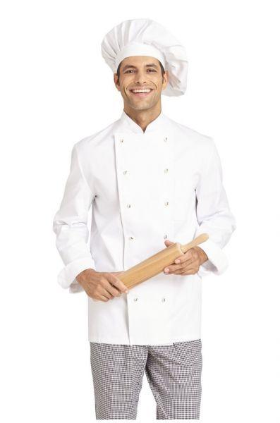 Leiber Damen- und Herren-Kochjacke von