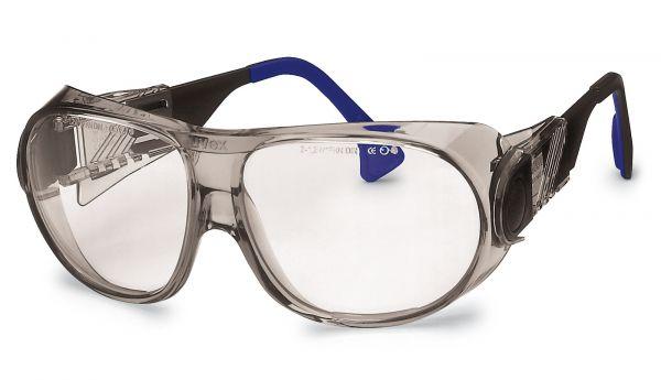 Uvex 9180.015 Futura optidur Schutzbrille sapphire Gläser klar