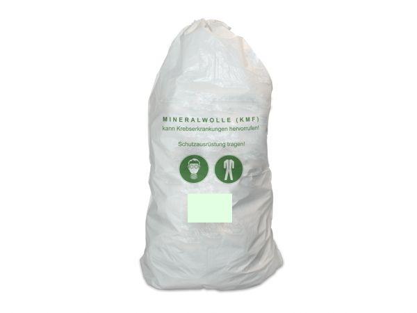 50er Pack Mineralwolle/KMF Bag 220 cm Entsorgung Sack TRGS 521