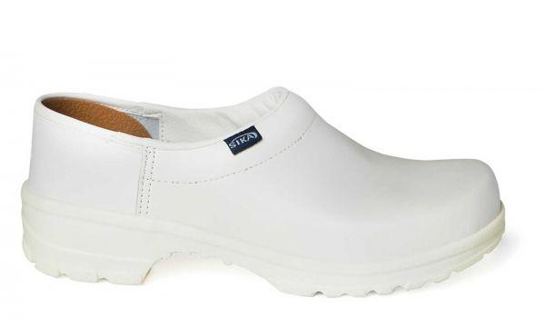 Sika 125 Comfort Clogs OB - Weiß