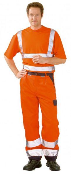 Planam Warnschutz Bundhose, Arbeitshose