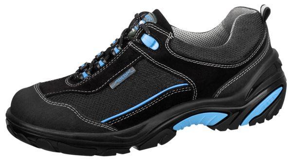 Abeba 4571 Crawler Halbschuh schwarz/ blau - S1 SRC Sicherheitsschuhe