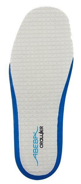 Abeba 3579 acc Wave für Crawler Sicherheitsschuhe auswechselbare Einlegesohle, offen, blau - Berufss