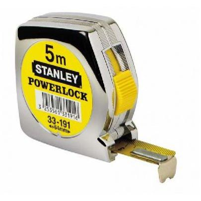 Stanley Bandmaß Powerlock 5m / 25mm