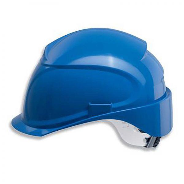 uvex airwing B-WR-S Arbeitsschutzhelm mit Lüftung - blau