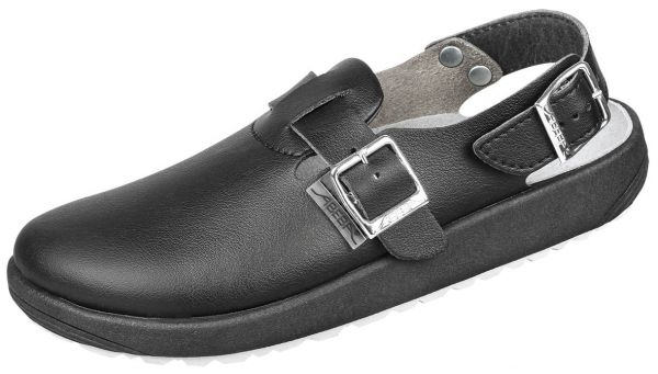 Abeba 970119 rubber Clog schwarz - OB SRC Berufsschuhe