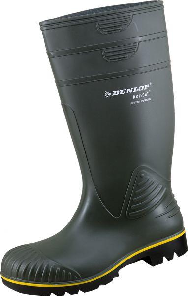 Dunlop Gummistiefel Acifort Grün EN 20347:2012.O4.FO