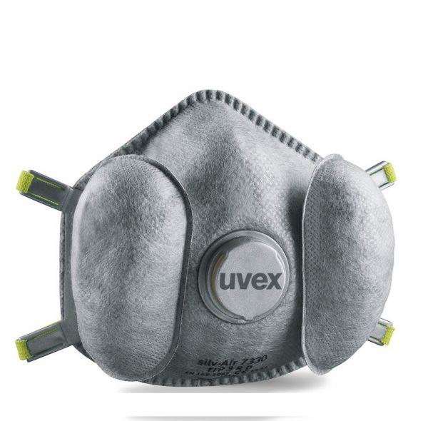 Premium Atemschutzmaske Uvex FFP3 Silv-Air Exxcel 7330