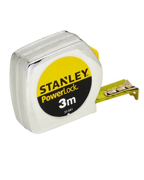 Stanley Bandmaß Powerlock 3m Metallgehäuse