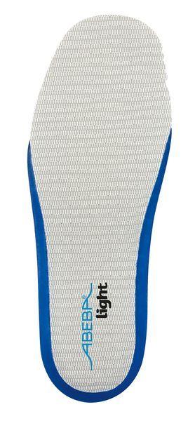Abeba 3559 acc Wave für light (geschlossen) auswechselbare Einlegesohle, blau - Berufsschuhe