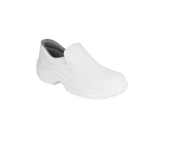 AWC Slipper Sicherheitsschuhe S2 Weiß