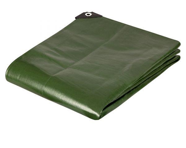 Premium Gewebeplane 200g für Garten, Camping, Freizeit, weiss und grün