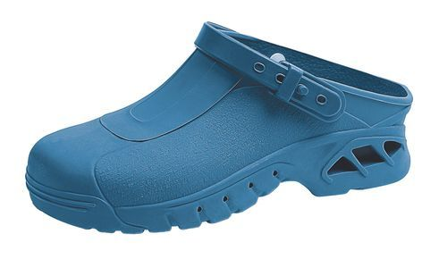 Abeba 9610 autoklavierbare Clogs blau - SRC - Berufsschuhe