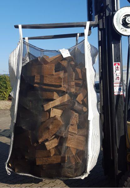 Big Bag HolzBag 120cm mit Sternboden, Kaminholz / Brennholz / Woodbag