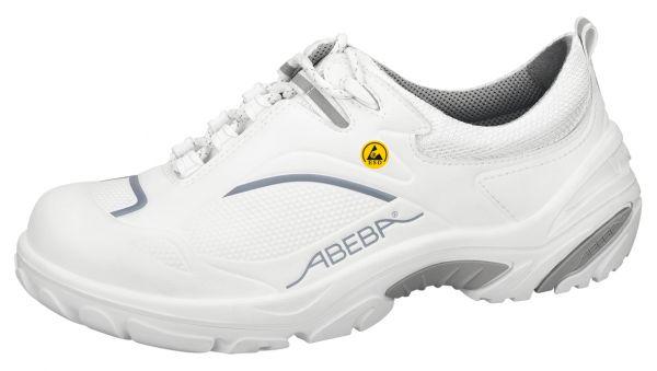 Abeba 34500 Crawler Halbschuh weiß/grau ESD - S2 SRC Sicherheitsschuhe