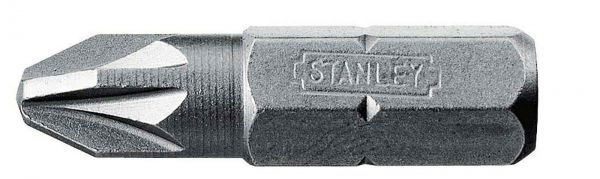 Stanley Bits Pozidriv Pz2 (3 x 1)