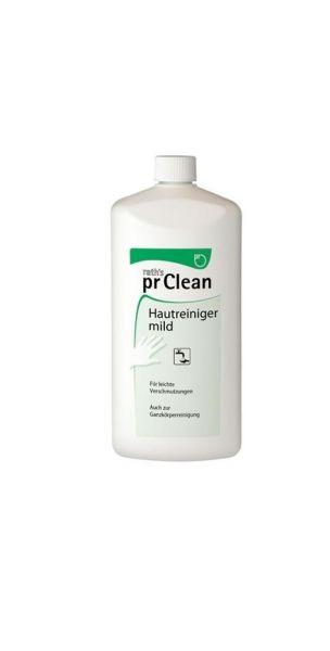 pr - Hautschutz prClean-Hautreiniger,1 Liter Flasche (100ml 0,55€ ) 2Liter Softflasche ( 6,45€ Liter