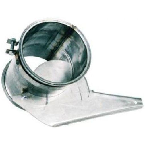 Ixkes Absperrschieber 150 mm aus Edelstahl für Big Bag
