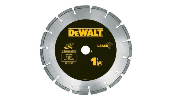 DeWalt DT3761, Lasergeschweißte Diamanttrennscheibe 125mm Ø