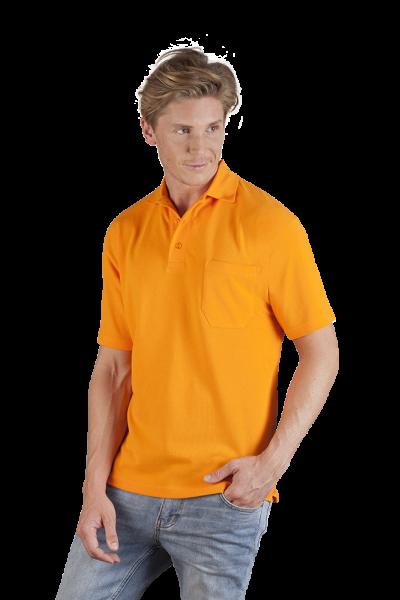 Promodoro Mens´s Heavy Polo Pocket - Polo mit Brusttasche und Knopfleiste