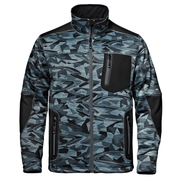 SIR Fighter Strick-Softshell-Jacke