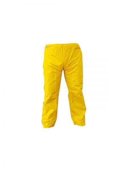 IXKES Regenhose Überziehhose gelb