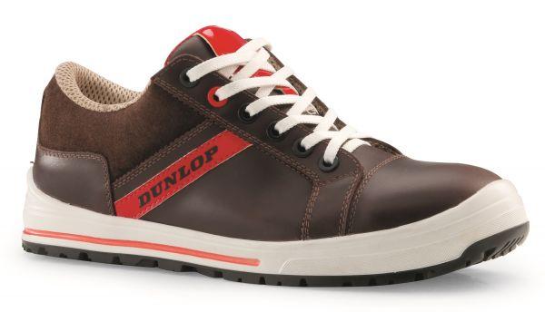 Dunlop Sicherheitsschuhe Metallfrei Streer Sneaker Brown Low S3 SRC