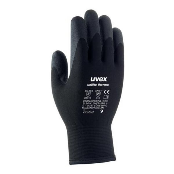 Uvex 60593 Unilite Thermo Winter-Strick Montagehandschuh