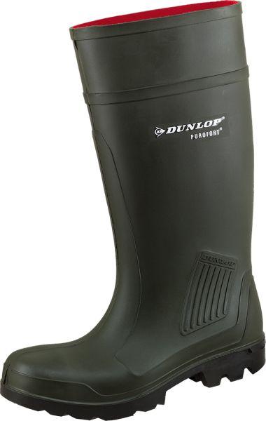 Dunlop Gummistiefel Purofort Grün EN 20347