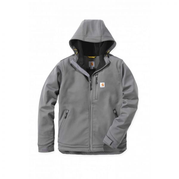 Carhartt 102200 CROWLEY SOFT SHELL HOODED JACKET