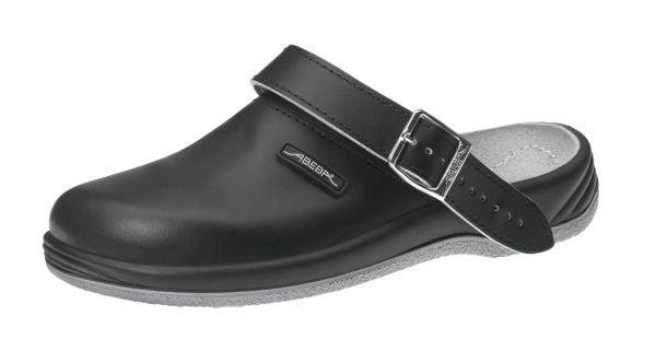 Abeba 8210 Arrow Clog schwarz - OB SRA Berufsschuhe