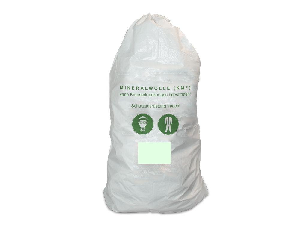 Favorit 20er Pack Mineralwolle/KMF Bag 220 cm Entsorgung Sack TRGS 521 PL25