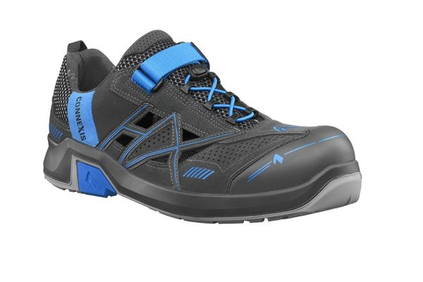 HAIX CONNEXIS Safety Air S1 Sandale - grey/blue Gr. 12