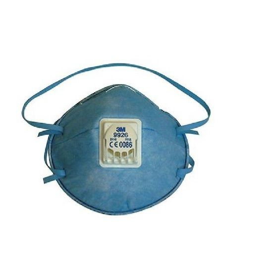3M Klebebänder 3M 9926 FFP2 Atemschutzmaske mit Ventil gegen Stäube und saure G