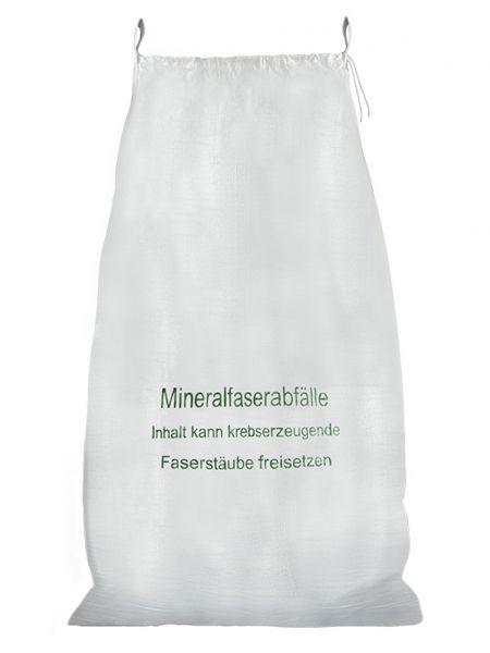 Mineralwolle/KMF Bag mit Hebeschlaufen und Zugband , gem. TRGS 521