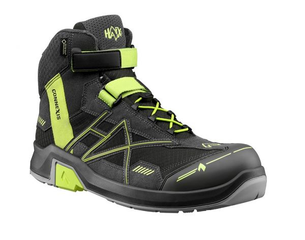 HAIX CONNEXIS Safety GTX S3 mid - grey/citrus Gr. 12