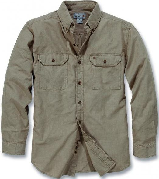 Carhartt S202 L/S FORT SOLID SHIRT