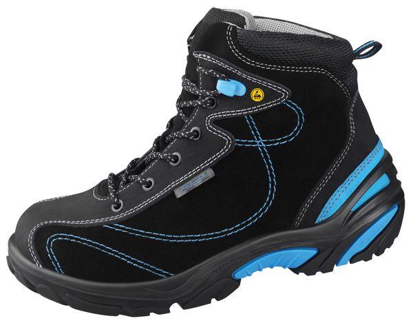 Abeba 34651 Crawler Stiefel schwarz/blau ESD - S2 SRC Sicherheitsschuhe