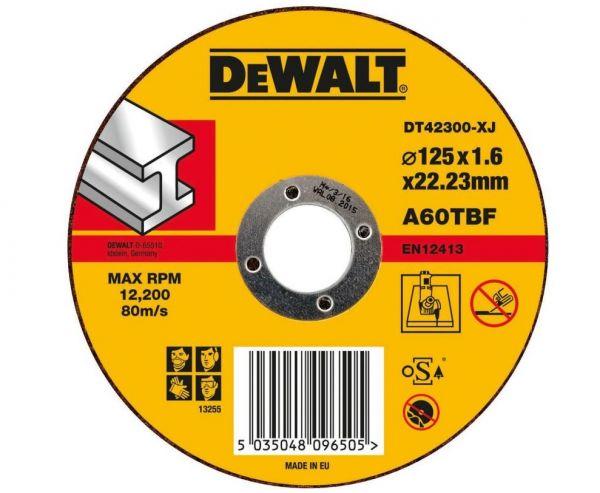 DeWalt DT42300, Standard Metall-Trennscheibe - flach