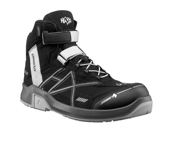 HAIX CONNEXIS Safety GTX S3 mid - black/silver Gr. 15
