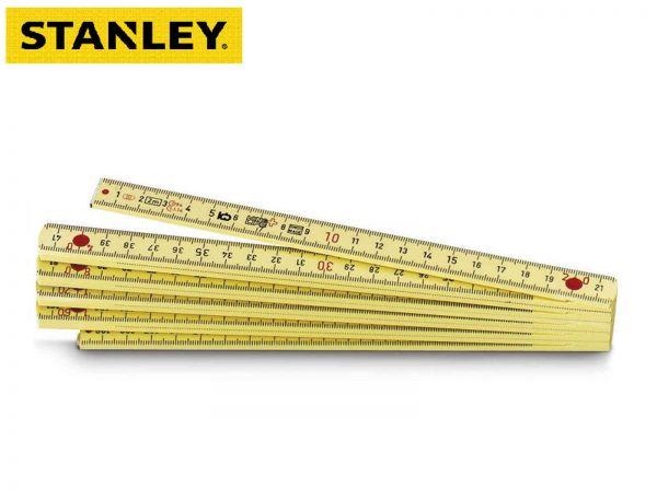 Stanley Gliedermaßstab 2m Glasfaser verstärkt