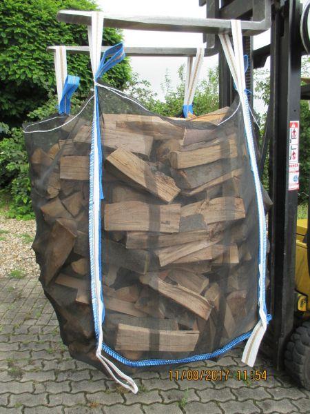 Special +++ Ixkes Vollnetz HolzBag Premium 160cm, Kaminholz / Brennholz / Woodbag