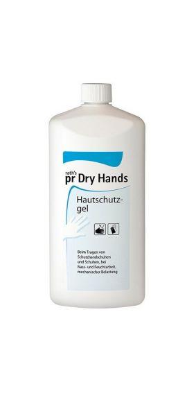 pr - Hautschutz prDry Hands - Hauschutzgel 1 Liter Flasche ( 100ml 3,09€ )- 1 Liter Softflasche ( 10