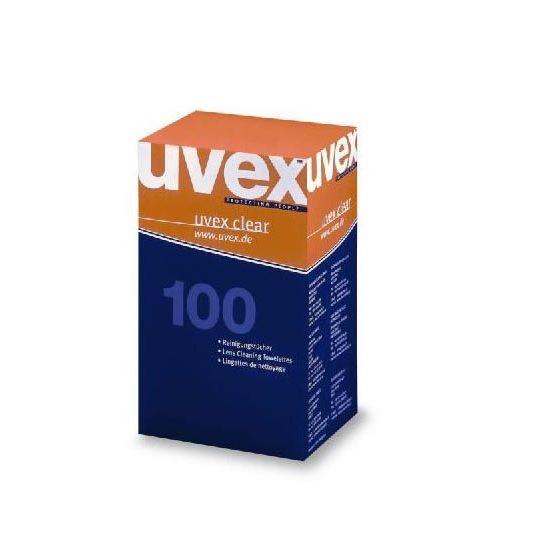 Uvex Schutzbrillen Zubehör Brillenreinigungstücher